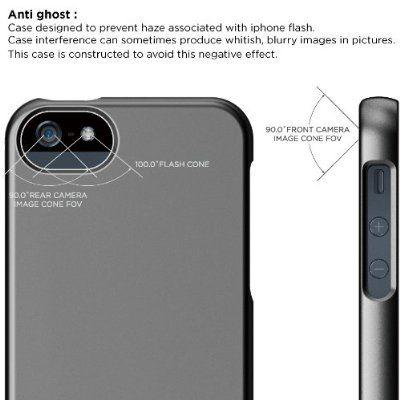 Калъф Elago S5 Glide за iPhone 5, Iphone 5s - тъмносив- - 4
