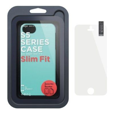 Elago S5 Slim Fit 2 Case за iPhone 5 -  син - 2