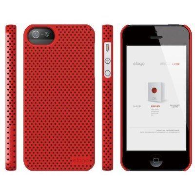 Калъф Elago S5 Breathe за iPhone 5, Iphone 5s -  червен - 5