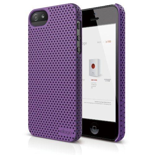 Калъф Elago S5 Breathe за iPhone 5, Iphone 5s -  лилав - 1