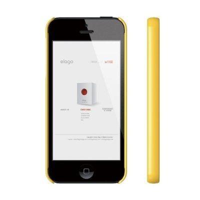 Elago S5 Slim Fit 2 Case за iPhone 5 -  жълт - 3