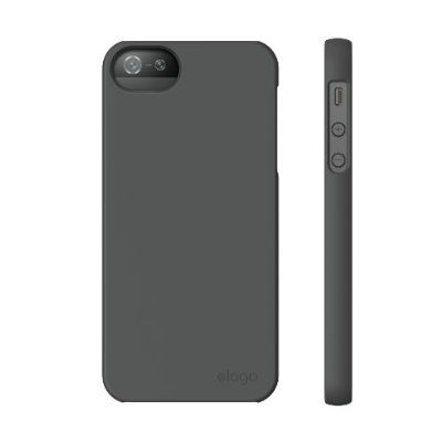 Elago S5 Slim Fit 2 Case за iPhone 5 -  тъмносив - 4