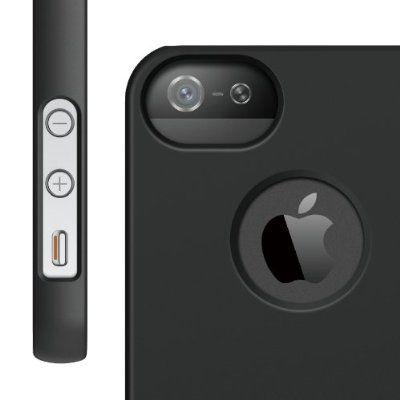 Elago S5 Slim Fit Case за iPhone 5 -  черен - 2