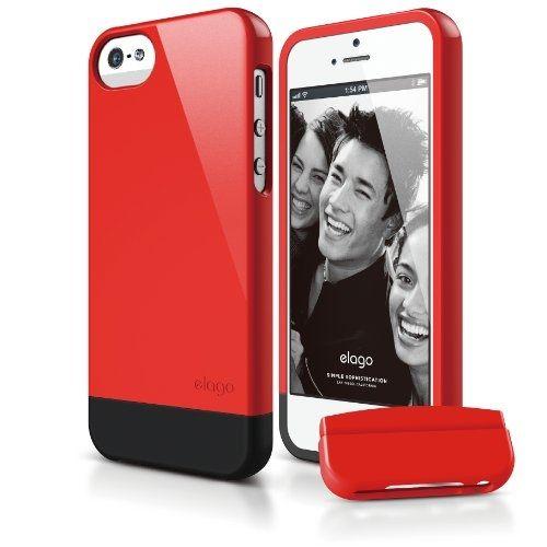 Калъф Elago S5 Glide за iPhone 5, Iphone 5s - червен-гланц - 1