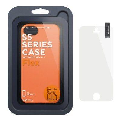 Калъф Elago S5 Flex за iPhone 5, Iphone 5s -  оранжев - 7