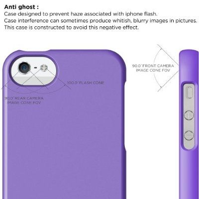 Калъф Elago S5 Glide за iPhone 5, Iphone 5s -  лилав-мат - 3