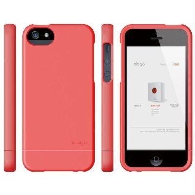 Калъф Elago S5 Glide за iPhone 5, Iphone 5s - светлочервен - 4