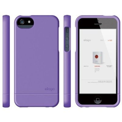 Калъф Elago S5 Glide за iPhone 5, Iphone 5s -  лилав-мат - 5
