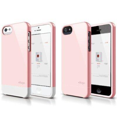 Калъф Elago S5 Glide за iPhone 5, Iphone 5s - светлорозов - 5