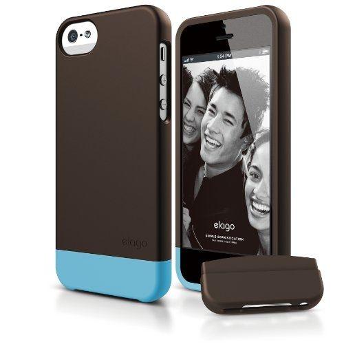 Elago S5 Glide Case за iPhone 5 - кафяв - 1