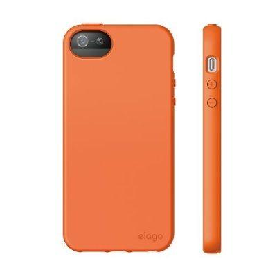 Калъф Elago S5 Flex за iPhone 5, Iphone 5s -  оранжев - 3
