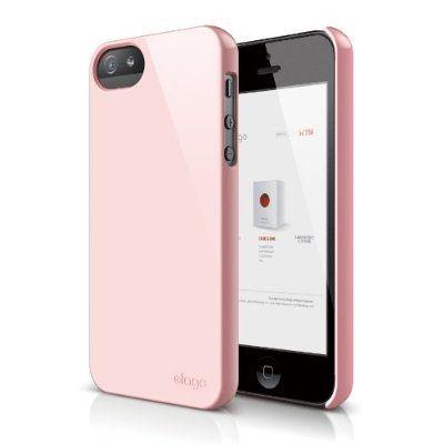 Elago S5 Slim Fit 2 Case за iPhone 5 -  светлорозов - 1