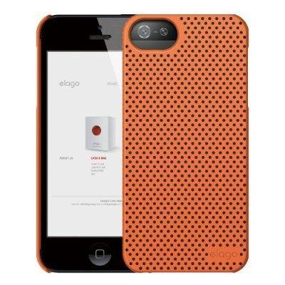 Калъф Elago S5 Breathe за iPhone 5, Iphone 5s -  оранжев - 2