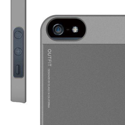 Elago S5 Outfit Aluminum за iPhone 5 -  сив - 6