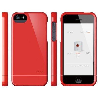Калъф Elago S5 Glide за iPhone 5, Iphone 5s - червен-гланц - 5