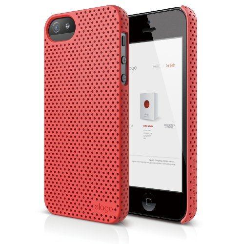 Калъф Elago S5 Breathe за iPhone 5, Iphone 5s -  светлочервен - 1