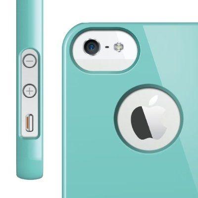 Elago S5 Slim Fit Case за iPhone 5 -  светлосин - 3