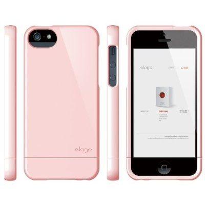 Калъф Elago S5 Glide за iPhone 5, Iphone 5s - светлорозов - 3