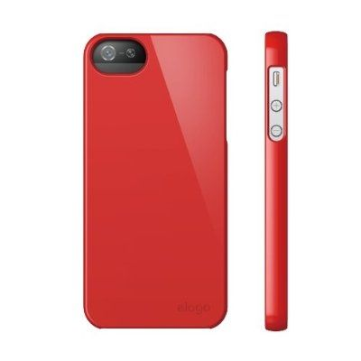 Elago S5 Slim Fit 2 Case за iPhone 5 -  червен - 3