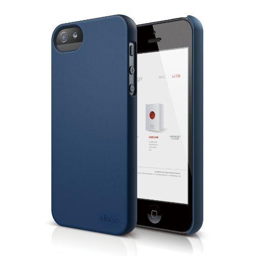 Elago S5 Slim Fit 2 Case за iPhone 5 -  тъмносин - 1