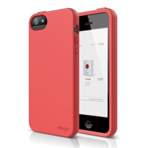 Калъф Elago S5 Flex за iPhone 5, Iphone 5s -  червен - 1