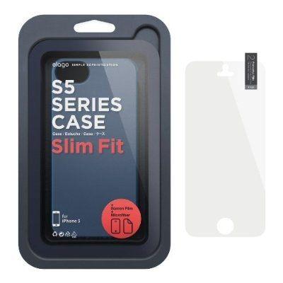 Elago S5 Slim Fit 2 Case за iPhone 5 -  тъмносин - 2