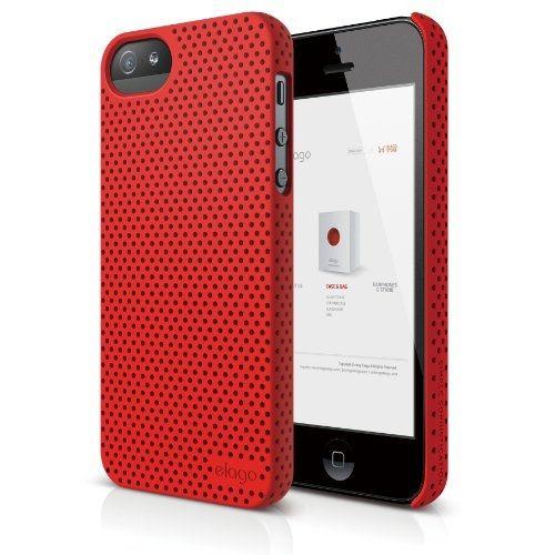 Калъф Elago S5 Breathe за iPhone 5, Iphone 5s -  червен - 1