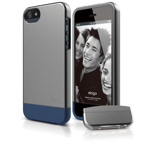 Калъф Elago S5 Glide за iPhone 5, Iphone 5s - тъмносив- - 1