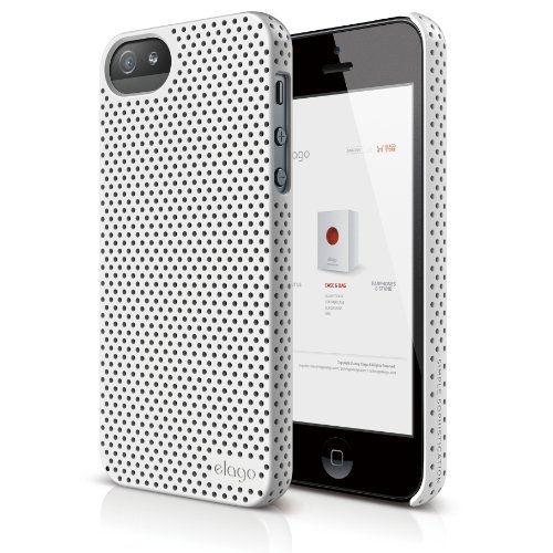 Калъф Elago S5 Breathe за iPhone 5, Iphone 5s -  бял - 1