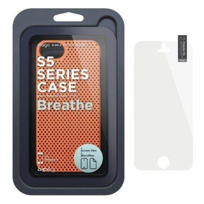 Калъф Elago S5 Breathe за iPhone 5, Iphone 5s -  оранжев - 6
