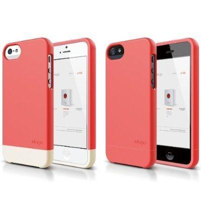 Калъф Elago S5 Glide за iPhone 5, Iphone 5s - светлочервен - 7