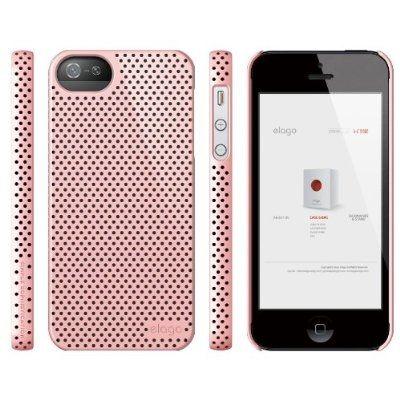 Калъф Elago S5 Breathe розов за iPhone 5 - 5