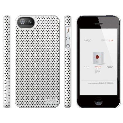 Калъф Elago S5 Breathe за iPhone 5, Iphone 5s -  бял - 5