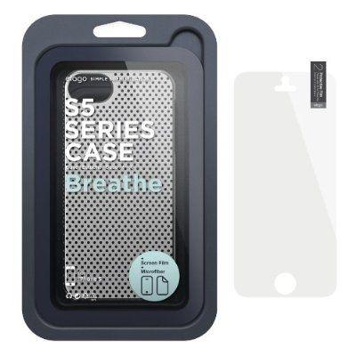 Калъф Elago S5 Breathe за iPhone 5, Iphone 5s -  сив - 6