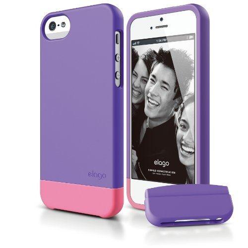 Калъф Elago S5 Glide за iPhone 5, Iphone 5s -  лилав-мат - 1