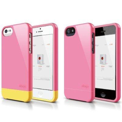 Калъф Elago S5 Glide за iPhone 5, Iphone 5s - тъмнорозов- - 6