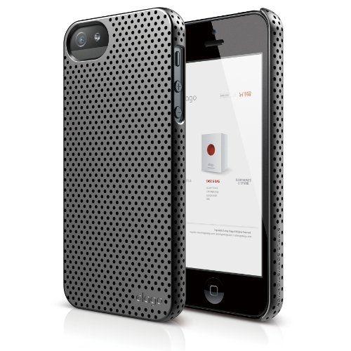 Калъф Elago S5 Breathe за iPhone 5, Iphone 5s -  сив - 1