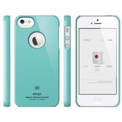 Elago S5 Slim Fit Case за iPhone 5 -  светлосин - 2