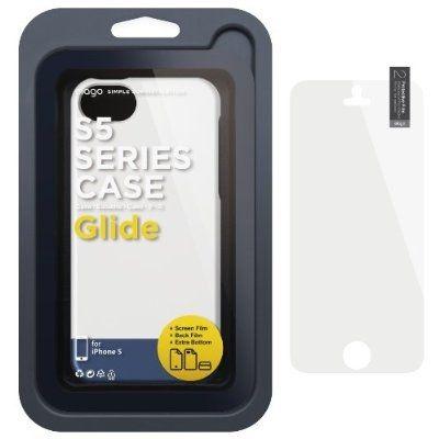 Калъф Elago S5 Glide за iPhone 5, Iphone 5s - бял-гланц - 5
