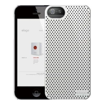 Калъф Elago S5 Breathe за iPhone 5, Iphone 5s -  бял - 2