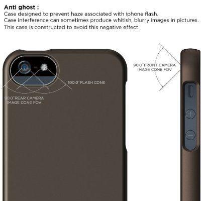 Elago S5 Glide Case за iPhone 5 - кафяв - 3