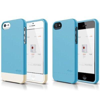 Калъф Elago S5 Glide за iPhone 5, Iphone 5s - син- - 3