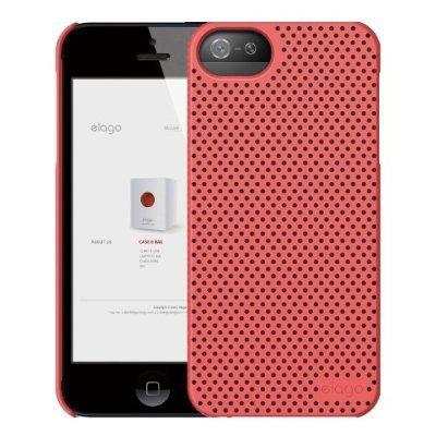 Калъф Elago S5 Breathe за iPhone 5, Iphone 5s -  светлочервен - 2