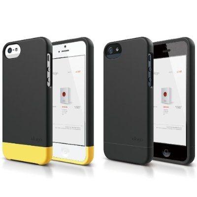 Elago S5 Glide Case за iPhone 5 - черен-мат - 8