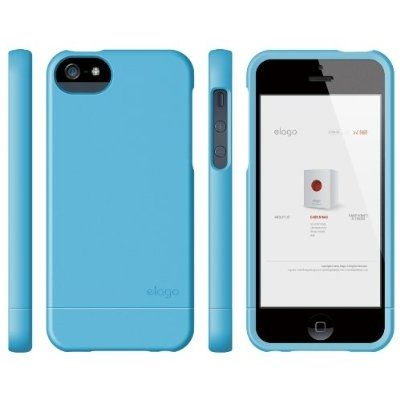 Калъф Elago S5 Glide за iPhone 5, Iphone 5s - син- - 5