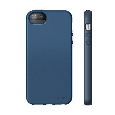 Elago S5 Flex Case за iPhone 5 -  тъмносин - 6