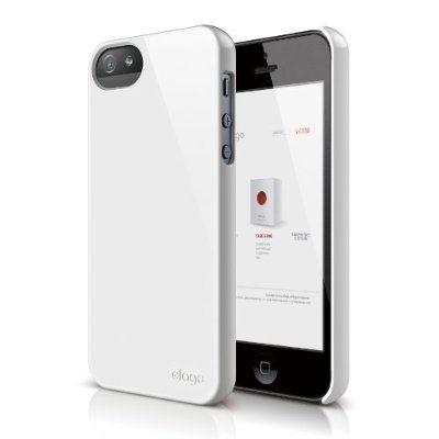 Elago S5 Slim Fit 2 Case за iPhone 5 -  бял - 1