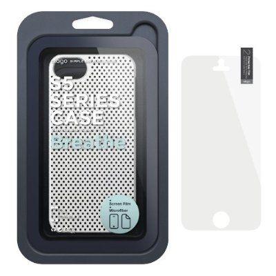 Калъф Elago S5 Breathe за iPhone 5, Iphone 5s -  бял - 6