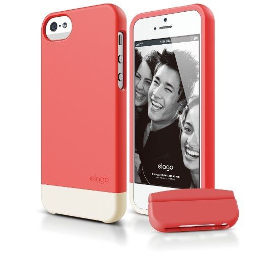Калъф Elago S5 Glide за iPhone 5, Iphone 5s - светлочервен - 1