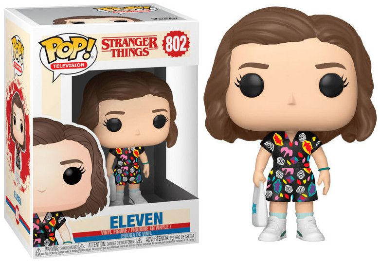 Фигура Funko Pop! TV: Stranger Things - Eleven in Mall Outfit, #802 - 2